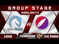 Liquid vs The Pango [EPIC] Chongqing Major CQ Major Highlights 2019 Dota 2
