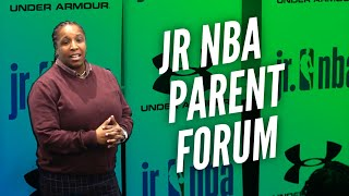 JR. NBA PARENT FORUM WITH WASHINGTON WIZARDS, PCA-MID-ATLANTIC