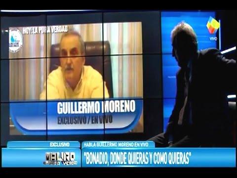 Guillermo Moreno en America 2 19/03/17