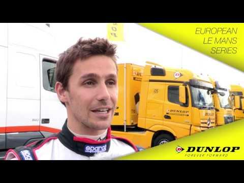 Estoril European Le Mans Series - Filipe Albuquerque fala a Dunlop
