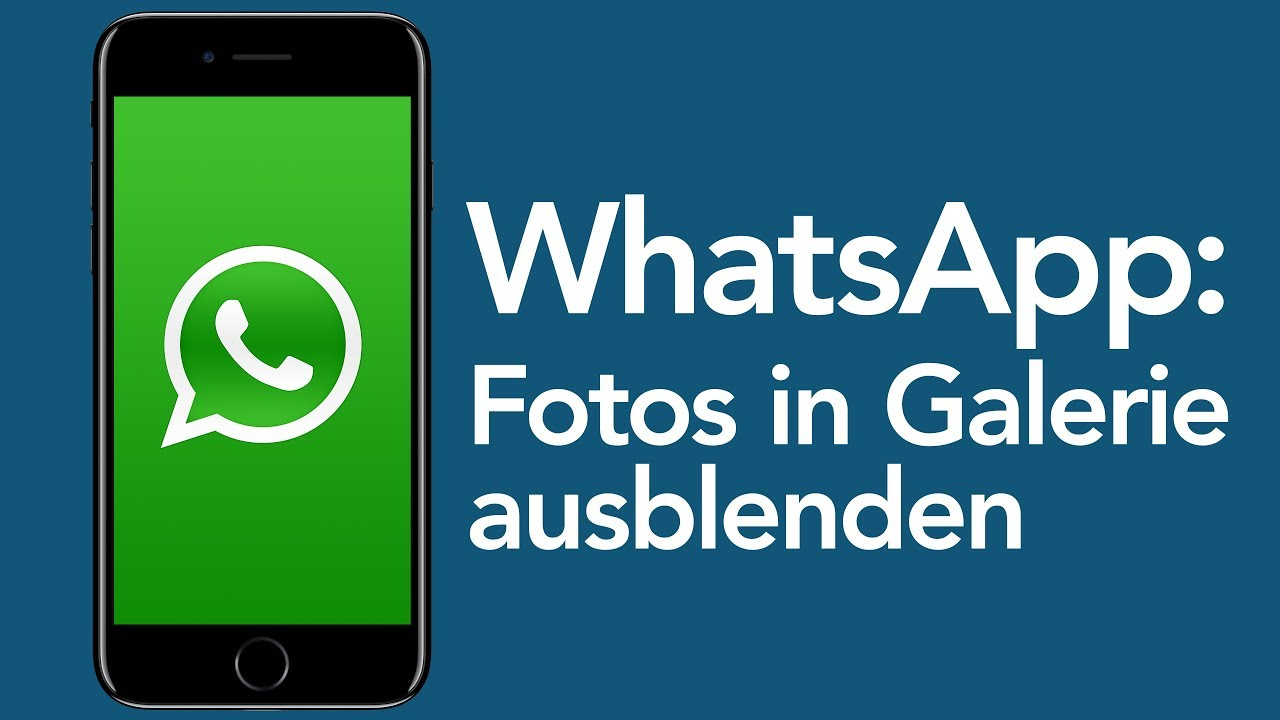 Whatsapp Tricks Fotos Nicht Speichern Android Youtube