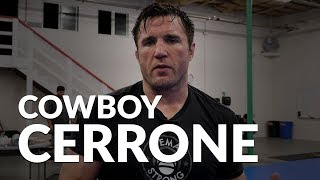 Chael Sonnen talks Cowboy Cerrone and gives Gracie Barra Portland gym tour