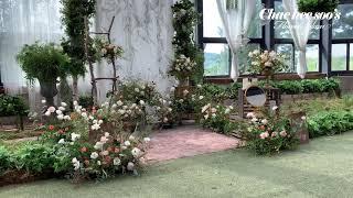[웨딩]특별한 그리너리카페에서의 하우스웨딩데코_채희수플…