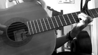 guitar solo ánh trăng nói hộ lòng tôi