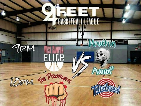 94 FEET BASKETBALL LEAGUE MOUTHIN AWWF V WEST CAMPUS PLAYOFFS OCT 26