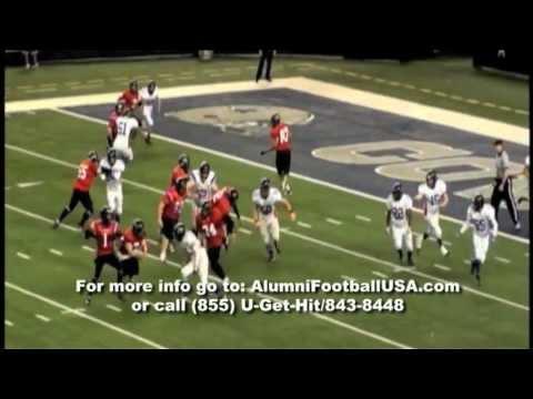 Hardin Jefferson vs Graham Alumni Football USA Highlights 1-15-12
