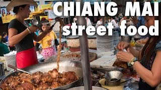 Chiang Mai Street Food at Chang Phueak (ช้างเผือก)