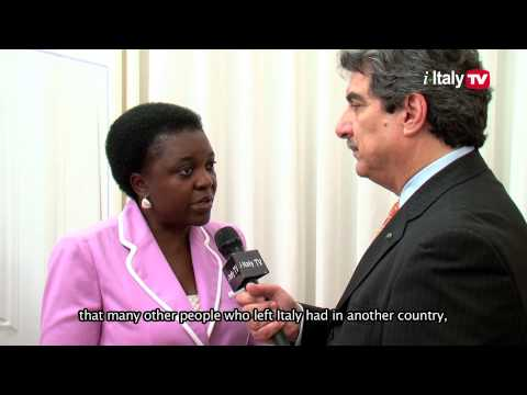 Minister Cécile Kyenge Meets the Italian American Community