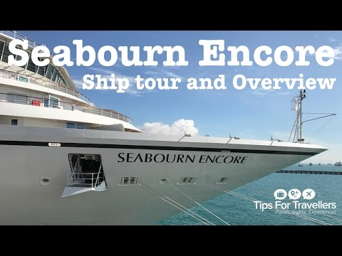 Seabourn Encore Cruise Ship Tour and Overview