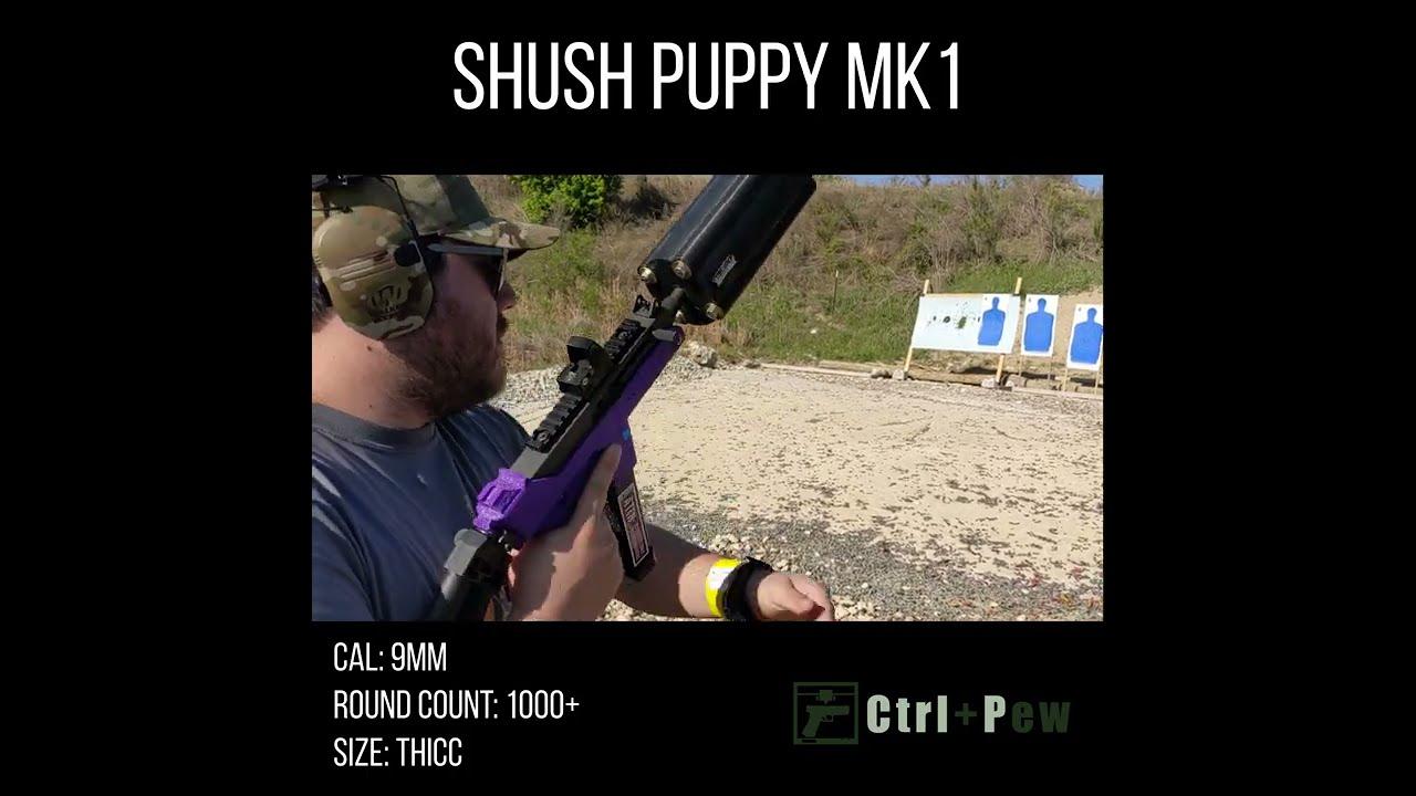 #Shorts The Last Test of the Shush Puppy Suppressor