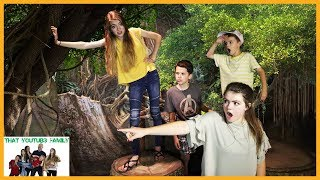 Lost In The Jungle - A Family Fun Adventure Story / That YouTub3 Family