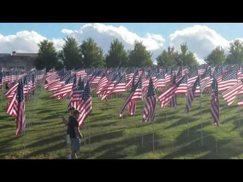 #FlagsofValor Banderas de Valentía, Tributo a l@s Caid@s en San Luis Missouri