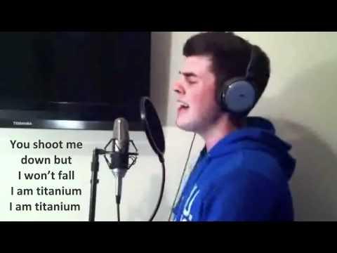 Wonderful Cover of Titanium by Gavin Beach & Jamie Cleaton With Lyrics