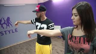 как научиться делать волну телом   Как танцевать Хип Хоп за 5 минут. Урок 3