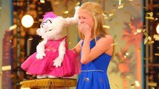 Девочка чревовещатель победила на шоу талантов! Все выступления Дарси Линн!
