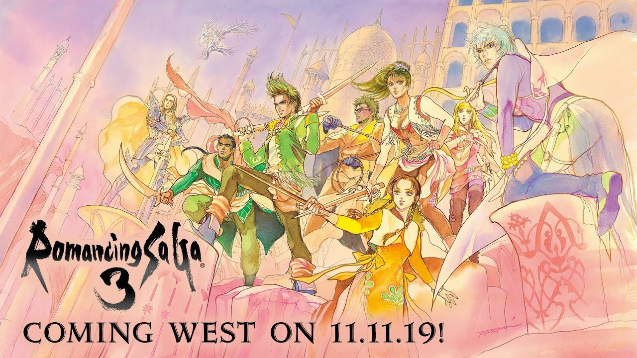 Romancing SaGa 3 is coming West for the first time!