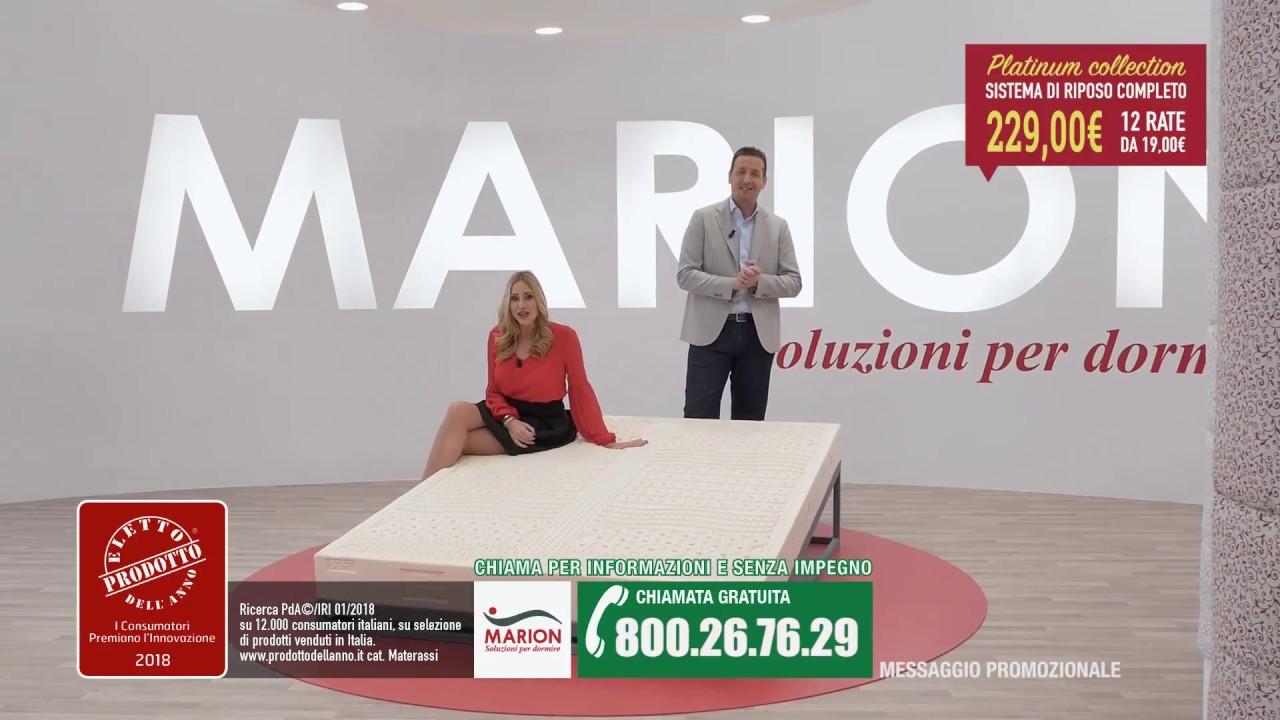 Materassi In Lattice In Offerta.Promozione Ufficiale Scaduta Marion Platinum Collection Materasso In Lattice E Rete A Doghe 229