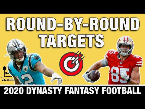 Players To Target Round-by-Round - 2020 Fantasy Football Dynasty