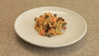 Simple Carrot Raisin Salad : Snacks & Salads