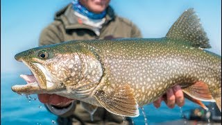 REMOTE FISHING The Largest Lake in The USA -- (MEGA Trout)