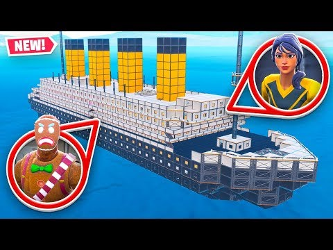 *NEW* TITANIC HIDE & SEEK In Fortnite!