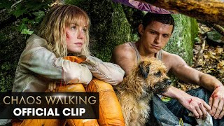 """<b>Chaos Walking</b> (2021 Movie) Official Clip """"What Are You Doing ..."""