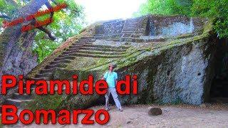 La piramide di Bomarzo - Tesori archeologici del Lazio