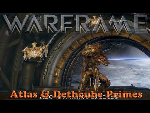 Warframe - Atlas & Dethcube Primes Teased