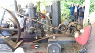 1 Zylinder Dieselmotor von ABC mit Pumpe