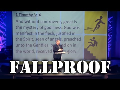 """Fallproof"" Part 3 – Pastor Raymond Woodward"