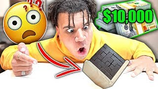 Solve This PUZZLE and Win $10,000!! (Impossible CUBE Challenge)