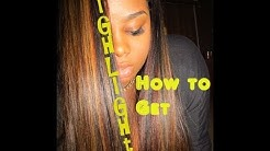 ♥ How I got my highlights method # 1 ♥