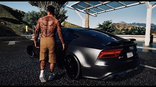 ►GTA 6 Graphics - Cars Gameplay! 60FPS 🔥 NEW 2018 ULTRA REALISTIC Graphics MOD 👍 GTA V MOD