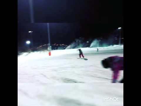 Сноуборд,открываем сезон на Игоре