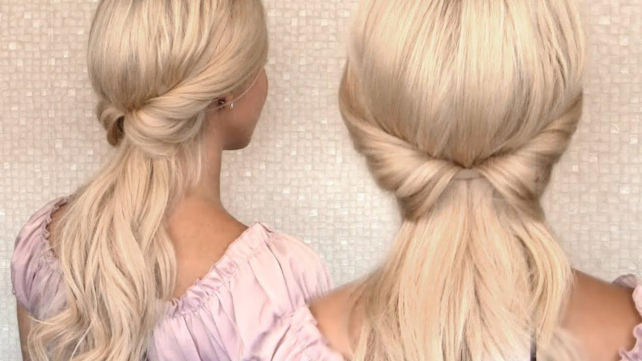 Extrêmement Tuto coiffure headband pour tous les jours/soirée/mariage - YouTube OL69