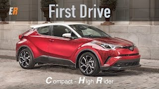 NEW - 2018 Toyota C-HR First Drive Review
