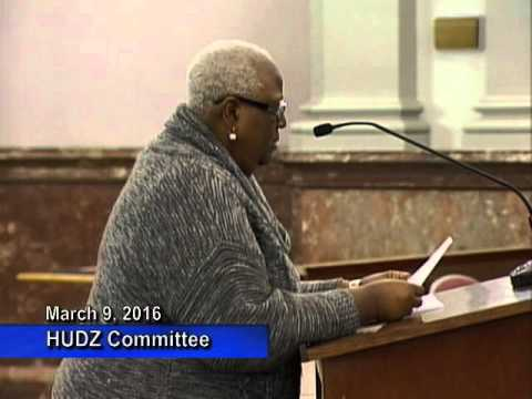 Housing, Urban Development & Zoning Committee - March 9, 2016