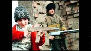 chechnya .. cry of a child !!