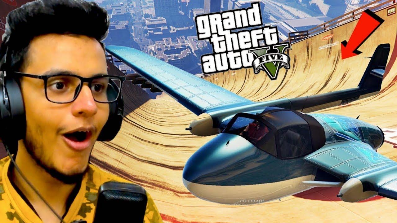 Hardest GTA 5 Plane Stunt Race