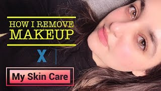 Simple Skin Care Routine for a Healthy & Glowy Skin + Removing Makeup. Skin care for Beginners