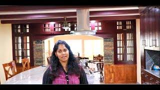 നാട്ടിലെ പുതിയ വീട്ടിലെ കിച്ചൻ    My New Kitchen..Mia Kitchen