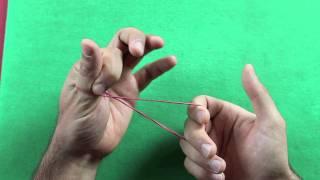 elastico attraverso il pollice spiegazione tutorial