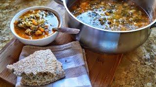 Italian Bean Stew شوربة الفاصوليا الايطالية