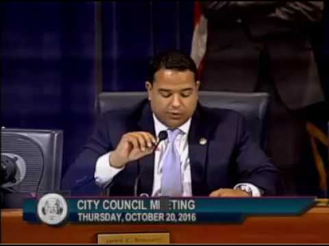 City Councilman Jared Brossett speaks on short-term rentals