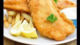 Жаренная рыба в кляре - нежнее нежного!