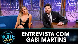 Entrevista com Gabi Martins | The Noite (03/07/20)