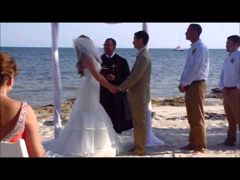 Iannello wedding ceremony in key west