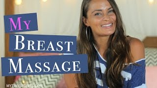 Self Breast Massage Routine ♥ For Beautiful & Healthy Breasts
