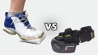 Homemade Jumpsoles To Jump Higher In Basketball