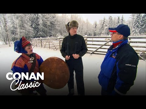 "Conan Visits Finland's Northernmost Region - ""Late Night With Conan O'Brien"""